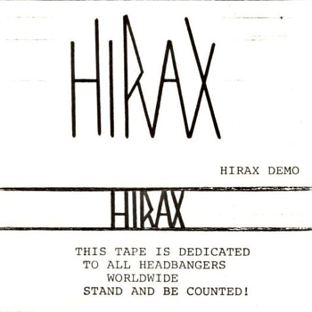 Hirax – Demo (1984)