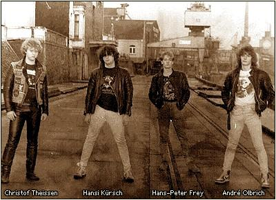 Lucifer's Heritage (Pre-Blind Guardian) Battalions of Fear 1986