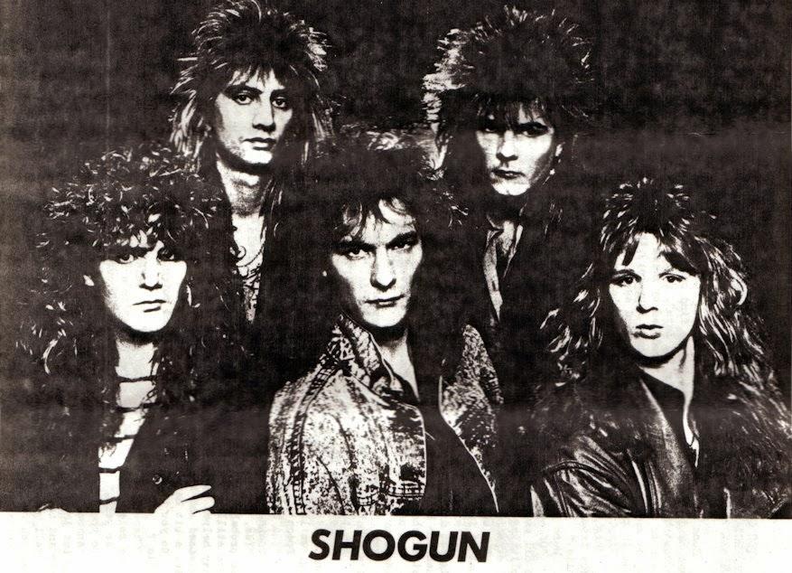 Shogun (UK) NWOBHM Alan Marsh