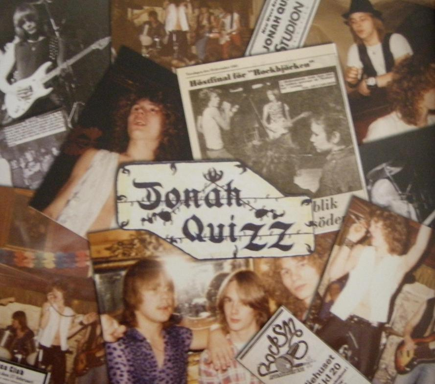 Jonah Quizz Sweden Heavy Metal