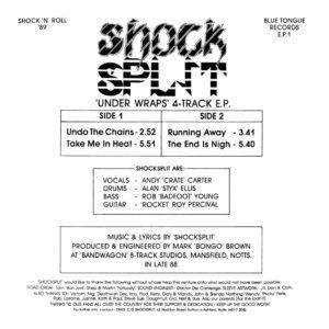 Shocksplit - Under Wraps EP 1989