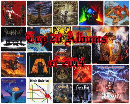 Top 20 Full-Length Metal Albums of 2014