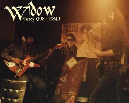 Widow (UK) – Demo Collection (1981-1984)