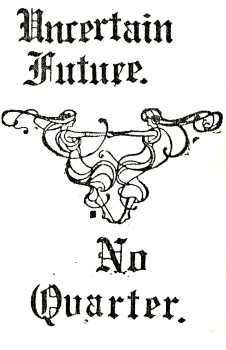 No Quarter – Uncertain Future (1982)